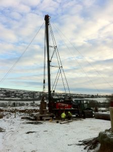 Abstraction Borehole Drilling United Utilities South Egremont Scheme
