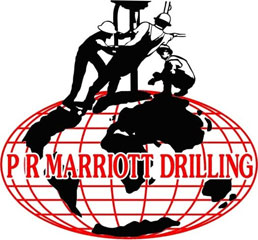 P R Marriott Drilling logo
